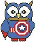 Captain Am-Ollie Owl